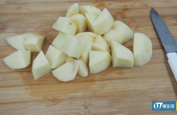 和風住家風味!簡易番茄薯仔湯「櫻花通粉」