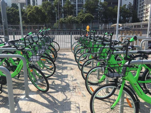 $5踩半個鐘!香港首推24小時電話租用單車App