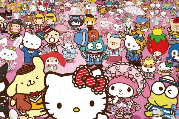 Sanrio搖搖碰遊戲 一齊收集100個角色