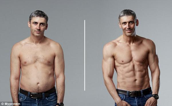 中年阿爸減肥練大隻變男神!公開3個月減肥餐單跟運動