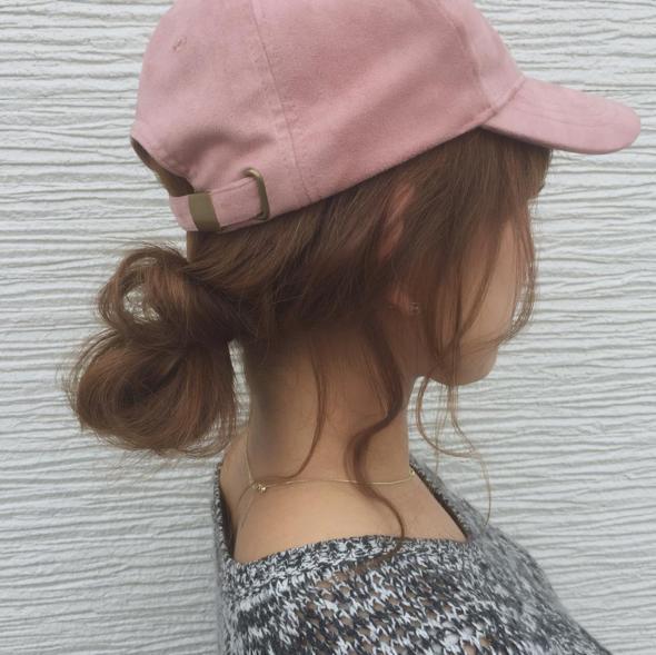 超簡易!三分鐘學識兩款日系CAP帽髮型