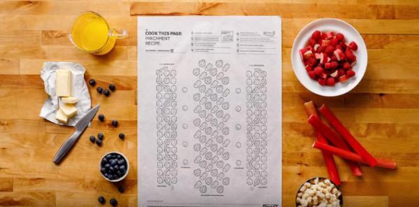 IKEA推創意料理工作紙 食材放格仔一焗食得!