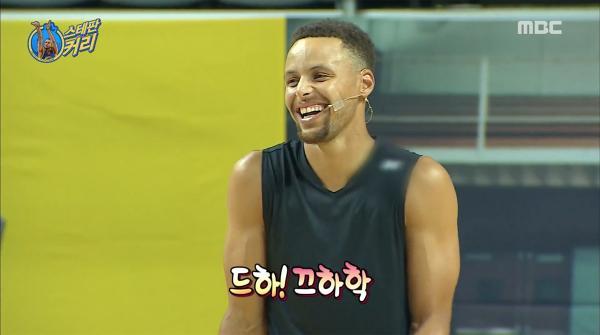 球星Stephen Curry上《無挑》主持打波出盡奇招