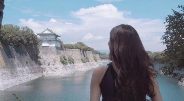 把回憶濃縮成超美MV!韓國神級男友拍大阪旅遊影片