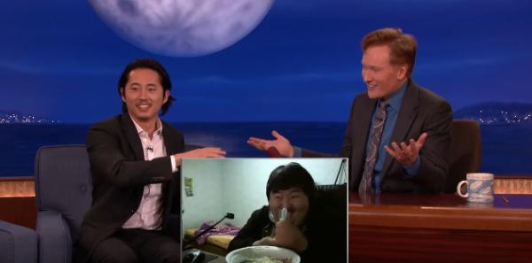 《陰屍路》Steven Yeun介紹最騎呢直播食飯 美國人反應爆笑