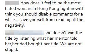 雷莊兒IG懶理中文差搬叻哥上台 「貼心」網民轉用英文留言一句KO