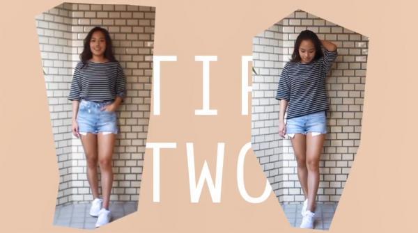 150cm嬌小女生學起來!4招長腿顯瘦穿搭術