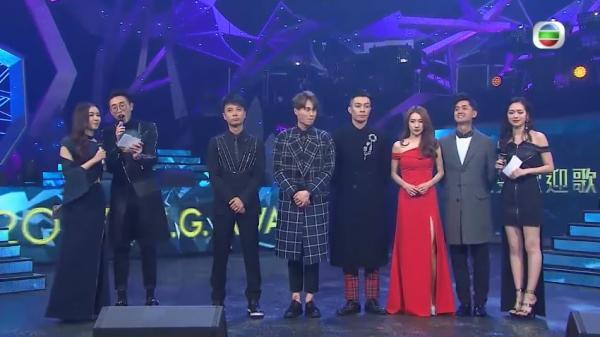 2017勁歌金曲頒獎典禮完整得獎名單