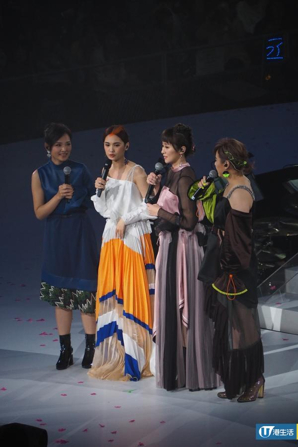 楊丞琳香港演唱會4 in Love合體唱《一千零一個願望》