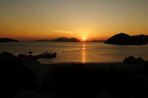 淺水灣日落