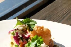 Limewood 越式炸魚墨西哥薄餅