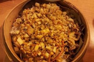 旺角樂農 原籠荷香蟲草花糙米飯 (圖: UBlogger - foodslike)
