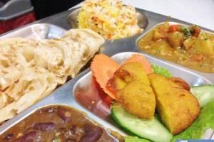 正宗百分百印度全素食品餐廳 印式超級套餐