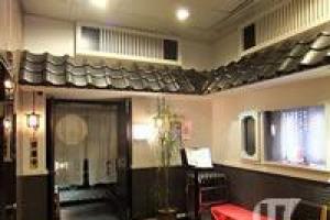 餐廳裝飾極富日本味
