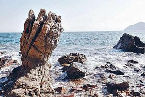 鬼手岩(圖片來源: 晴報)