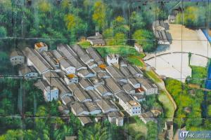 荔枝窩村壁畫