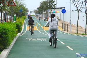 海濱公園單車徑