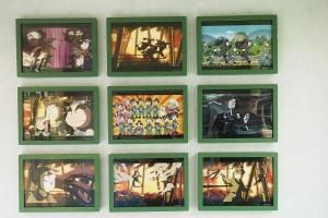 忍者亂太朗25周年展覽 設影相、遊戲區