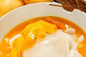 芒果甜心河粉。