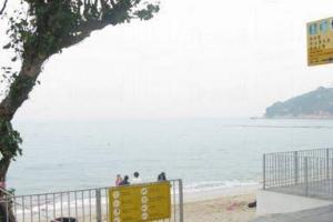長洲沙灘。