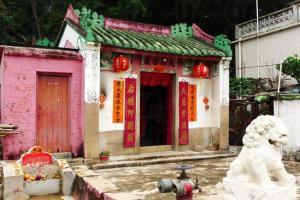 天后古廟,已有 200 年歷史,內有刻上光緒十二年字樣的香爐。