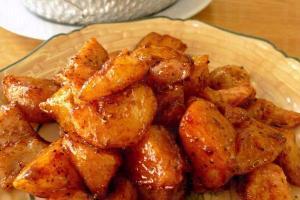 黑椒薯烤豬夾肉,甜甜的很惹味,$ 45。
