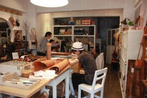 Fungus Workshop 舖址現在亦是導師們的工作室。