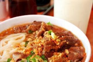秘製原汁牛腩麵,入口鬆軟嫩滑,味道濃郁,麵底也爽口,$33。