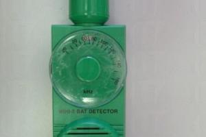 蝙蝠探測器真身,可調校不同率調,蝙蝠飛過時就會發出沙沙聲響。(相片來源︰世界自然基金會)