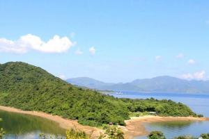 前方就是馬屎洲其中一個出名之處——連島沙洲,將馬屎洲與三門仔連接在一起。