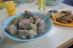 丸手麵 ($21 )可一次過吃到群記的招牌美食。