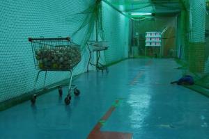 這個九宮格的練習距離幾乎已經等於棒球場的標準投球距離了。