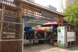 大埔農墟是本地難得的有機菜集中地!