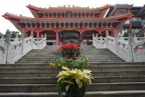 位於港鐵粉嶺站附近的蓬瀛仙館最初是一間私人供奉的廟宇,後來才開放予大眾。