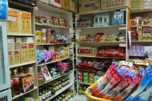 店內有許多韓國正牌健康小食,保證全由韓國入口。