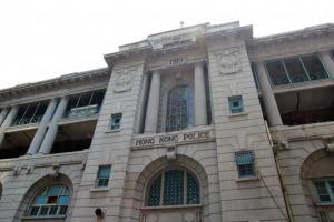前中區警署充滿了英國建築的特色。