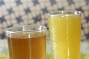 公利的蔗汁和蔗水都是招牌貨,味道自然清甜。