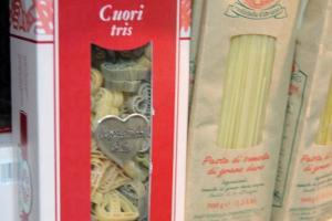 情人節和紀念日必備的煮飯仔材料--心型意大利粉。