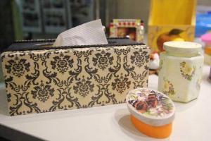 蝶古巴特能廣泛應用在各生活用品上,最適合粉飾家中舊物。