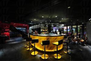 位於地下的 The Tonno Bar ,裝潢偏向中高格調。