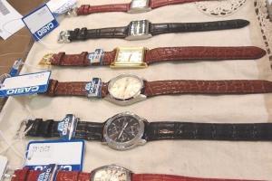 一系列 Casio Vintage 手錶,售價 $200 起。(Shecky 攝)