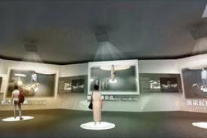 在多媒體體驗區中,你可以從屏幕中體驗虛擬的秦兵馬軍團,彷彿回到秦朝。