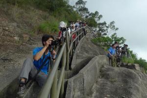 不少攝影愛好者喜歡到此拍青碼橋夜景(圖片:新之棧)