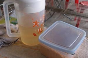 糖漿黃糖供食客自由添加。