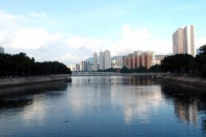 城門河污泥問題已改善,不再「香」氣撲鼻。