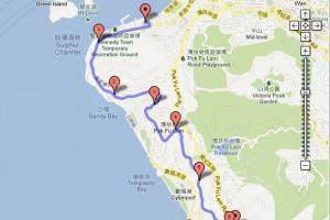 域多利道全長 6km,難度 4 分。