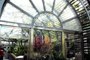 公園溫室開放至下午四時半