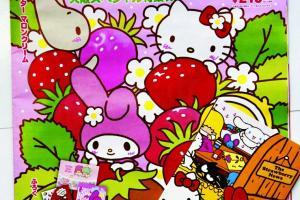 Sanrio 每月出版刊物,介紹將推出新款貨品,另附送小禮物。每本 $25