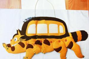 店內專賣《龍貓》產品,有專人於日本找貨。龍貓信插.貓腿可隨意黏貼活動,$499