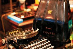 1927 年德國 BING 學生用打字機 $6,500